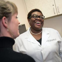 Dr. Patricia Wilson-Witherspoon is director of the School of Medicine's Department of Family Medicine.