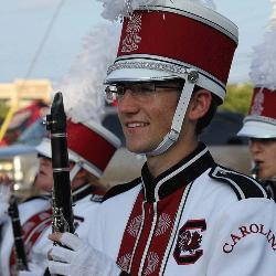 Freshman Jake Mann says performing in The Carolina Band keep him busy but is worth it.