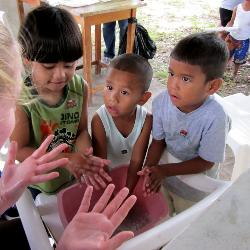 Pre-med students get hands on experience working with doctors in rural villages in Central America as a part of a spring break study abroad trip. Last year students traveled to Costa Rica.