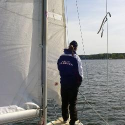 Basic Keelboat Sailing teaches students to safely skipper or crew a 25-foot boat on sheltered water in moderate weather.