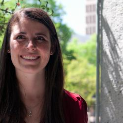 Graduating senior Anna Hawkins is one of three students to receive this university's highest undergraduate honor, the Algernon Sydney Sullivan Award.