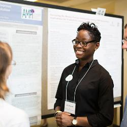 Ka'la Drayton's research included two weeks of fieldwork in South Africa. Her work with Adam Hartstone-Rose (right) will continue into her senior year.