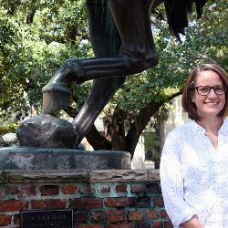 New College of Education professor Kortney Sherbine researches uses of pop culture in the classroom.