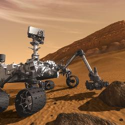 The next NASA mission to Mars will include the SuperCam instrument package riding atop the rover.