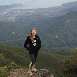 Kira Koppel during her time at California State University-East Bay.