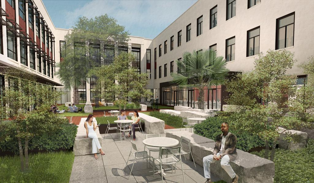 school of law breaks ground on new building