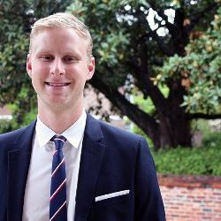 A 2014 graduate of the UofSC School of Law, Perry MacLennan got to make his first argument before the state Supreme Court less than a year after graduating — and his client prevailed.