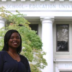 Eliza Allen is a new assistant professor of elementary education is the College of Education. The Savannah, Ga., native is research better ways to provide equal opportunities for language learning among diverse student populations.
