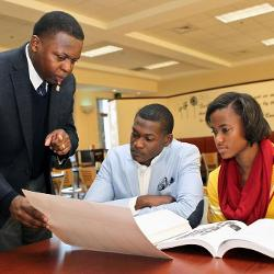 When Brian Johnson applied to the African American Professors Program at UofSC, he became the first African-American man to earn a Ph.D. in literature from Carolina.