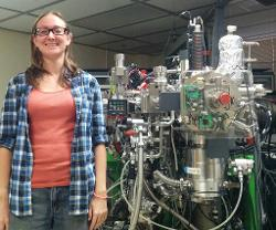 Beth Ann Bell used a Cameca IMS 1270 ion microprobe for some of the work in the recently published research paper.