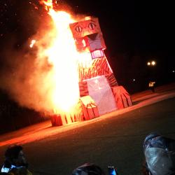 The annual Carolina-Clemson rivalry week has included burning a tiger in effigy for nearly 100 years.