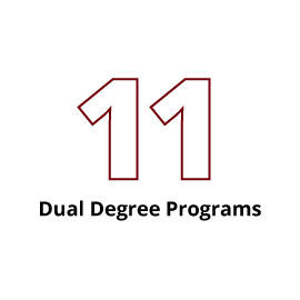 Infographic: 11 Dual Degrees Programs