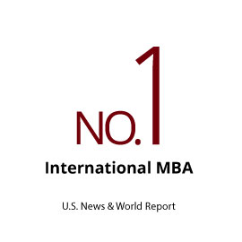 Infographic: No. 1 International MBA (U.S. News & World Report)
