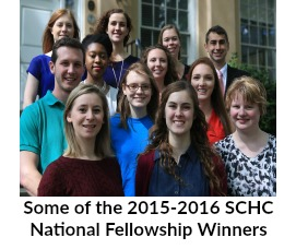 Some of the 2015-2016 National Fellowship Winners