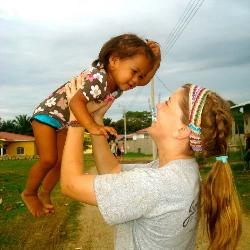 Catherine Buddin says she fell in love with helping the kids in Honduras a year ago.
