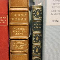 USC is home to what is considered the largest collection of Scottish literature outside the United Kingdom. That includes a large collection of Robert Burns poetry.
