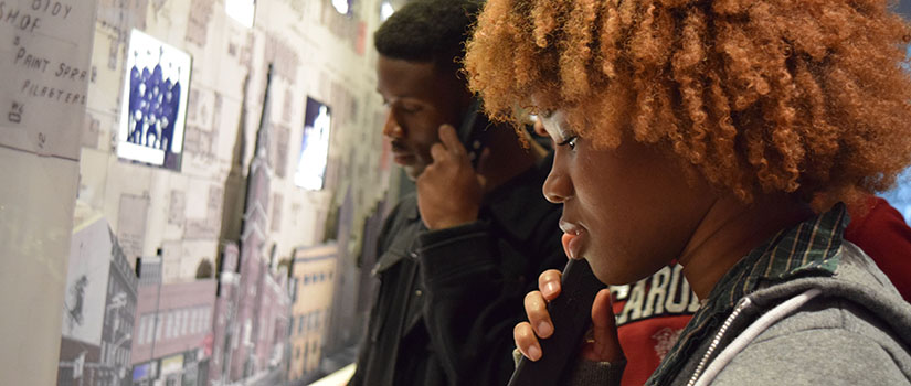 Students attend diversity exhibit