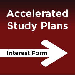 accelerated study plans