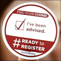Ready to Register sticker