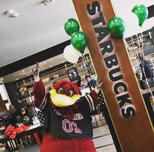 Starbucks - Thomas Cooper Library - Carolina Food Co  | University