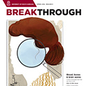 Breakthrough magazine, Spring 2016 issue cover thumbnail
