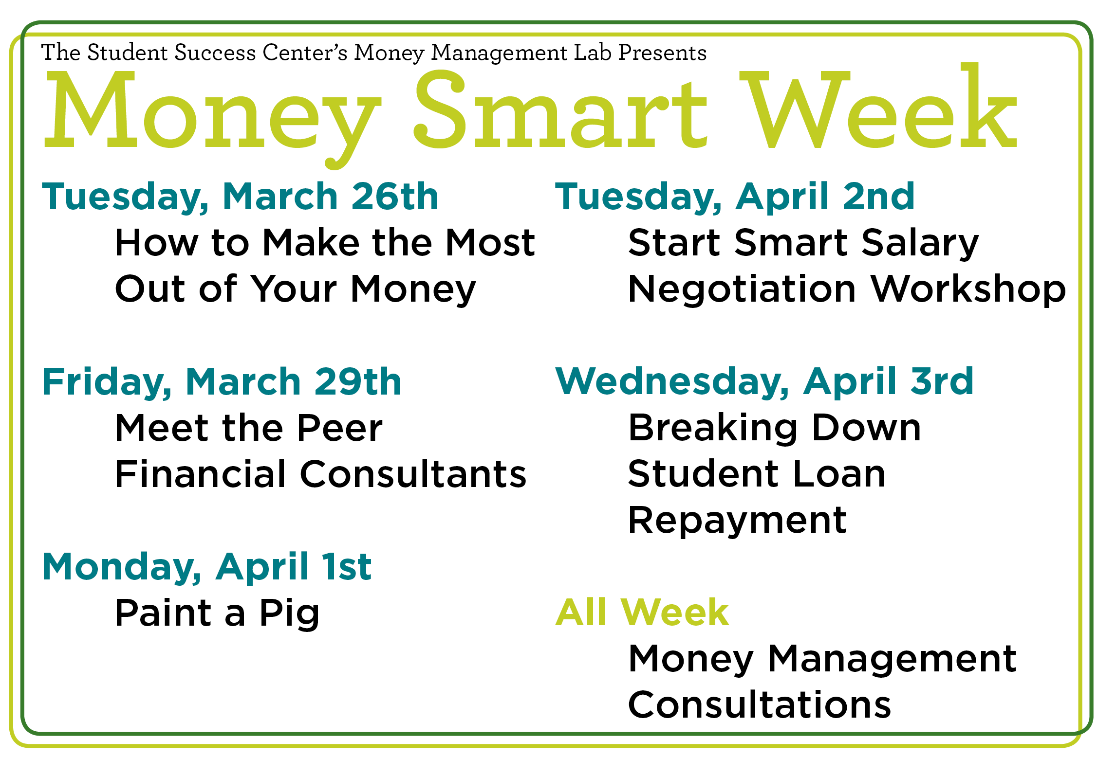 money smart week image