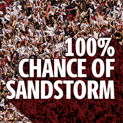 100% chance of sandstorm background