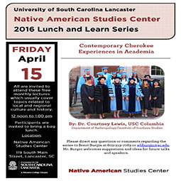 April 2016 Lunch and Learn