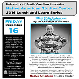 December 2016 Lunch and Learn