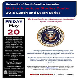 May 2016 Lunch and Learn