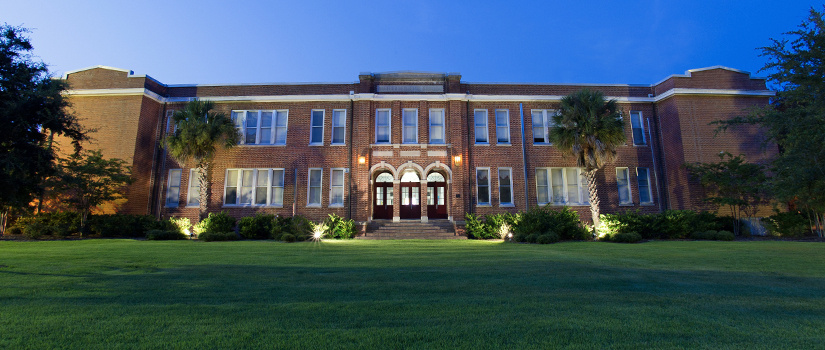 The main building at USC Salkehatchie's Walterboro Campus