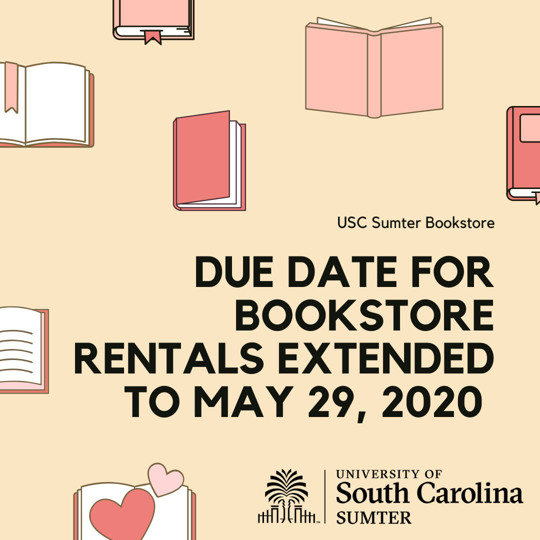 Bookstore Rentals May 2020