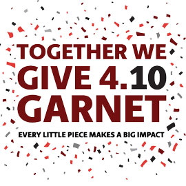 Give4Garnet confetti