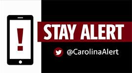 Stay alert with @CarolinaAlert on Twitter