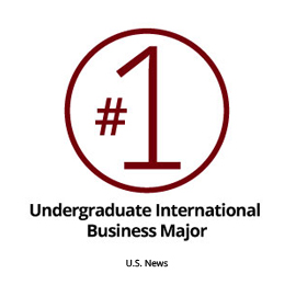 No. 1 Undergraduate International Business Program
