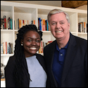 Junior Antionna Fuller's Internship with Senator Graham's Office
