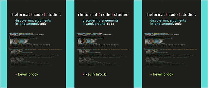 Kevin Brock Rhetorical Code Studies book cover