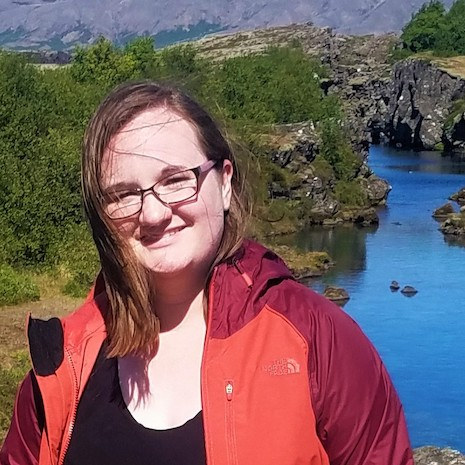 Junior Lilian Hutchens on a recent trip to Iceland
