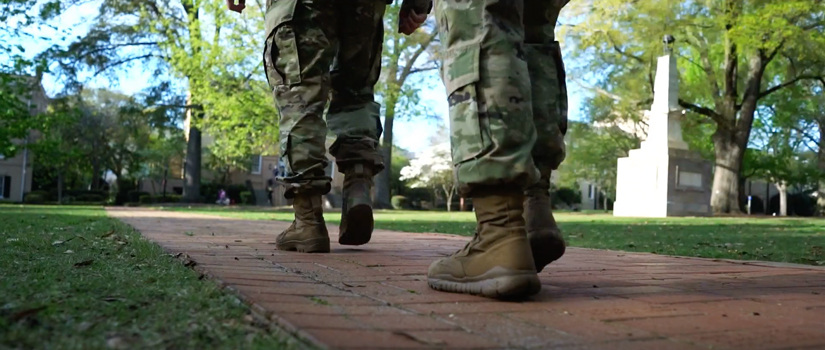 Army Cadets Boots on the Horseshoe