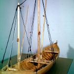 Model of Brown's Ferry vessel. (SCIAA photo)