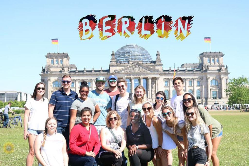 Students in the Germany Maymester class visited Munich and Berlin. There, they explored a variety of topics and shared the stories they found through photography, graphic design and video.