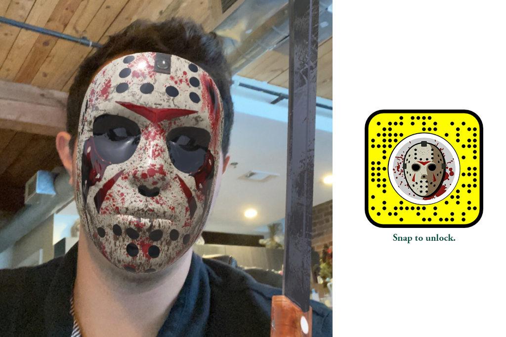 Luke Bobo - Scan me on Snapchat to access mask.