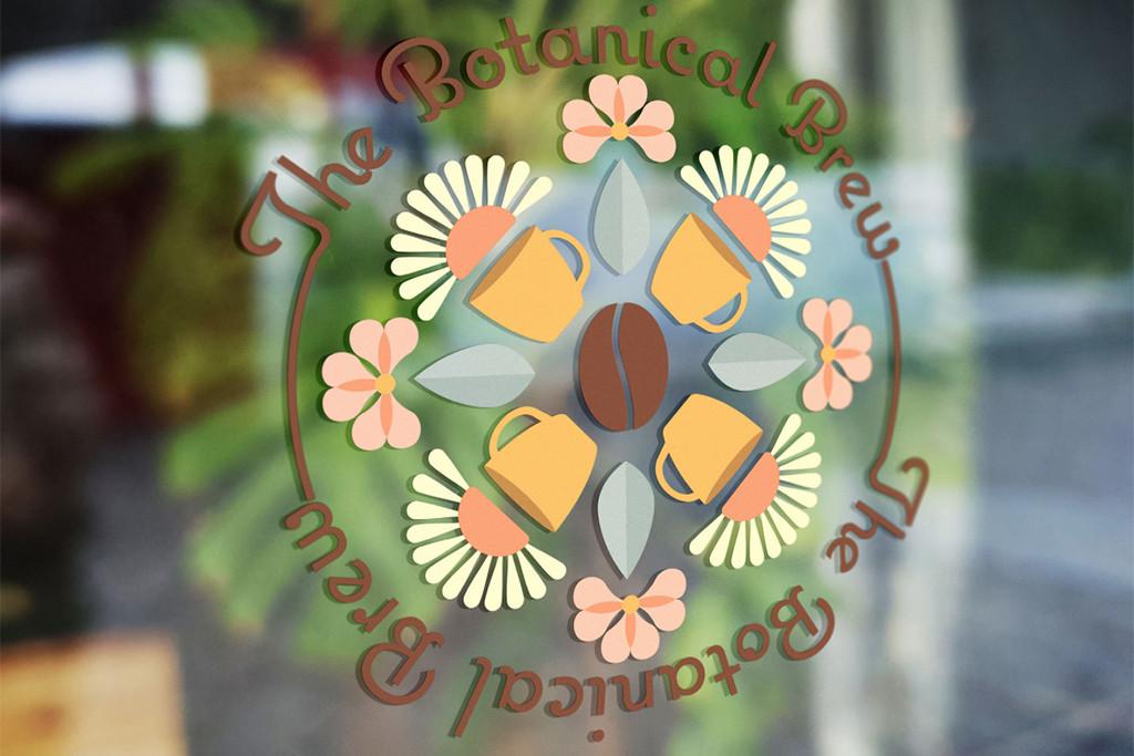 Sydnie Trampontina, Botanical Brew - Second Place Visual Identity and Branding