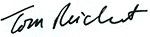 Tom Reichert signature