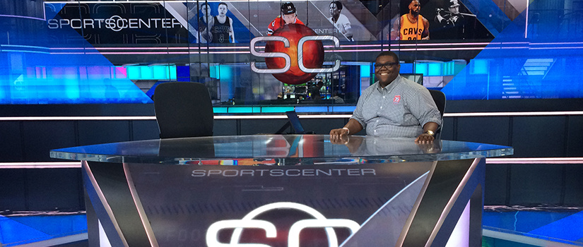 Alex Grant spent his summer with ESPN, where his work included filming SportsCenter, meeting company executives and talking with fellow Gamecocks.