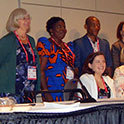 Faculty present findings on inclusive school libraries at international congress