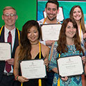 Journalism school honors outstanding students