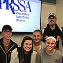 Student PR team wins prestigious chapter award