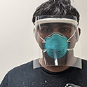 student models faceshield