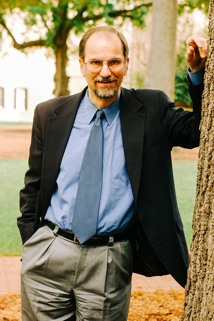Peter Sederberg on the UofSC Horseshoe